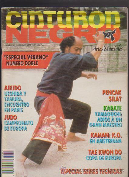CINTURON NEGRO - Nº 5 - ARTES MARCIALES 1989 (Coleccionismo Deportivo - Revistas y Periódicos - otros Deportes)