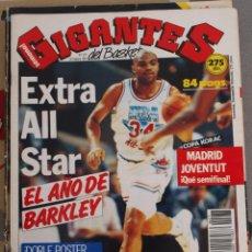 Coleccionismo deportivo: REVISTA BALONCESTO GIGANTES BASKET 277 EXTRA ALL STAR 1991 CHARLES BARKLEY IMPECABLE . Lote 44814992