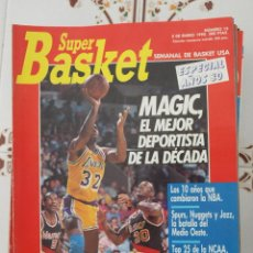 Coleccionismo deportivo: REVISTA BALONCESTO NBA SUPERBASKET 3ª ÉPOCA 13 1990 MAGIC JOHNSON. Lote 44823857