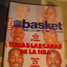 Coleccionismo deportivo: 1990 REVISTA BALONCESTO NBA DON BASKET EXTRA 11 MICHAEL JORDAN BIRD MAGIC MALONE THOMAS EWING. Lote 44828733