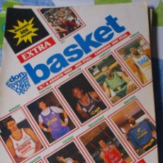 Coleccionismo deportivo: REVISTA BALONCESTO DON BASKET EXTRA LIGA 6 AÑO 1989 SABONIS FERNANDO MARTIN . Lote 44828928