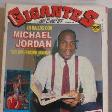 Coleccionismo deportivo: REVISTA BALONCESTO GIGANTES BASKET AÑO 1988 MICHAEL JORDAN. Lote 44829670