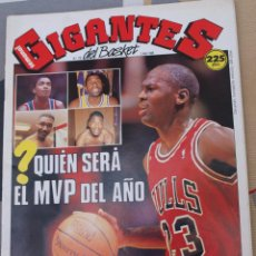 Coleccionismo deportivo: 178 REVISTA BALONCESTO NBA GIGANTES BASKET 1989 MICHAEL JORDAN CON POSTER. Lote 44871184