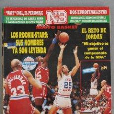 Coleccionismo deportivo: 168 REVISTA BALONCESTO NBA NUEVO BASKET 1988 ALL STAR MICHAEL JORDAN. Lote 44871353