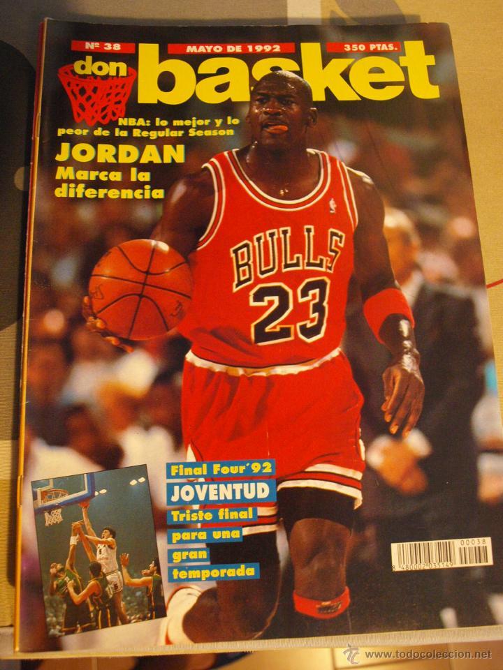 35 REVISTA BALONCESTO NBA DON BASKET 1992 MICHAEL JORDAN FINAL FOUR (Coleccionismo Deportivo - Revistas y Periódicos - otros Deportes)