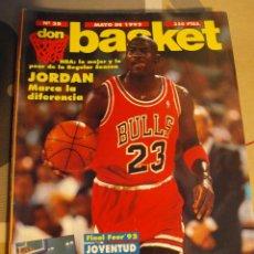 Coleccionismo deportivo: 35 REVISTA BALONCESTO NBA DON BASKET 1992 MICHAEL JORDAN FINAL FOUR . Lote 44871717