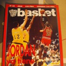 Coleccionismo deportivo: 28 REVISTA BALONCESTO NBA DON BASKET 1991 MICHAEL JORDAN CAMPEÓN NBA EUROBASKET 91. Lote 44871772