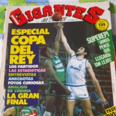 Coleccionismo deportivo: 8 REVISTA BALONCESTO GIGANTES BASKET 1985 ESPECIAL COPA REY POSTER FERNANDO MARTIN REAL MADRID. Lote 44872162