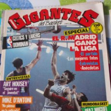 Coleccionismo deportivo: 28 REVISTA BALONCESTO GIGANTES BASKET 1986 REAL MADRID FERNANDO MARTIN CAMPEON LIGA . Lote 44872190