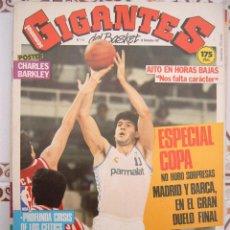 Coleccionismo deportivo: 112 REVISTA BALONCESTO GIGANTES BASKET 1987 ESPECIAL COPA REY FERNANDO MARTIN. Lote 44872736
