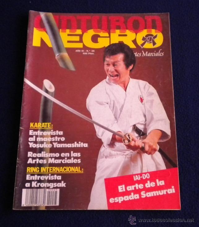 ARTES MARCIALES / CINTURON NEGRO / REVISTA Nº25 (Coleccionismo Deportivo - Revistas y Periódicos - otros Deportes)