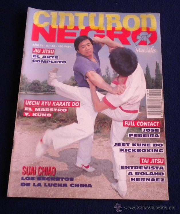 ARTES MARCIALES / CINTURON NEGRO / REVISTA Nº46 (Coleccionismo Deportivo - Revistas y Periódicos - otros Deportes)