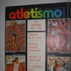 Coleccionismo deportivo: REVISTA DE ATLETISMO Nº 341AÑO 1983 LOS MEJORES DEL AÑO,PILAR FERNANDEZ,ANTONIO PRIETO. Lote 45019138