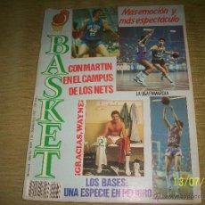 Coleccionismo deportivo: REVISTA BASKET Nº136 1935. CON MARTIN EN EL CAMPUS, WAYNE.LAS PLANTILLAS ,. Lote 45132900