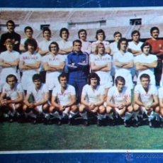 Colecionismo desportivo: TAPAS REVISTA VIDA Y LUZ MAYO 1975 MINI POSTER REAL MADRID FUTBOL. Lote 45161135
