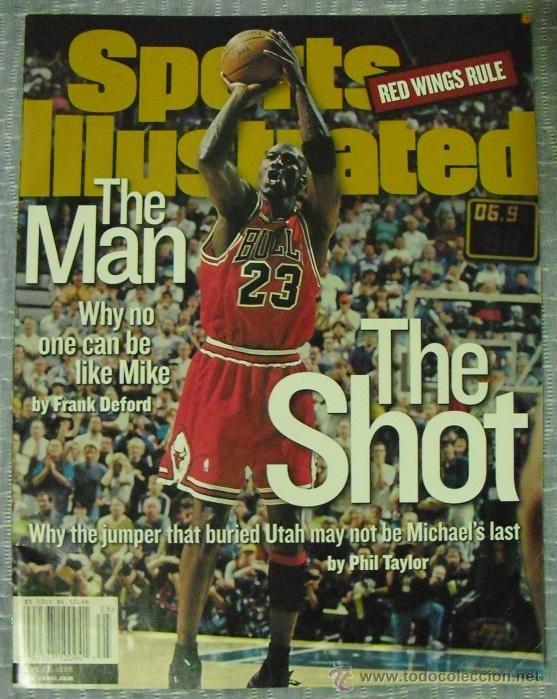 MICHAEL JORDAN - REVISTA ''SPORTS ILLUSTRATED'' (1998) - SEXTO ANILLO - NBA (Coleccionismo Deportivo - Revistas y Periódicos - otros Deportes)