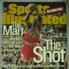 Coleccionismo deportivo: MICHAEL JORDAN - REVISTA ''SPORTS ILLUSTRATED'' (1998) - SEXTO ANILLO - NBA. Lote 45220223