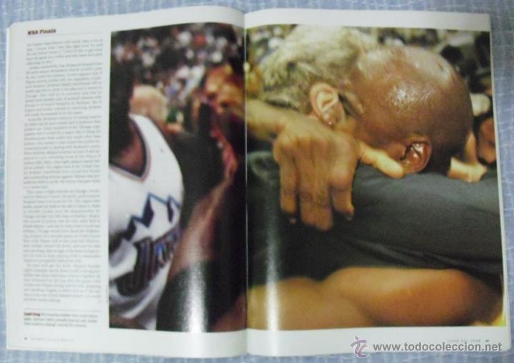Coleccionismo deportivo: Michael Jordan - Revista ''Sports Illustrated'' (1998) - sexto anillo - NBA - Foto 3 - 45220223