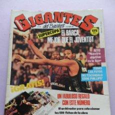 Coleccionismo deportivo: REVISTA GIGANTES DEL BASKET Nº 101-1987 BARÇA CAMPEON SUPERCOPA-AITO GARCIA RENESES-POSTER MCDOWELL. Lote 45328317