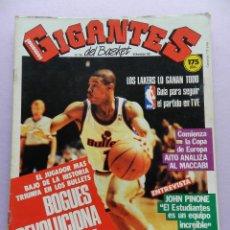 Collectionnisme sportif: REVISTA GIGANTES DEL BASKET Nº 108 FERNANDO MARTIN-JOHN PINONE ESTUDIANTES-POSTER NBA-TYRONE BOGUES. Lote 45328361