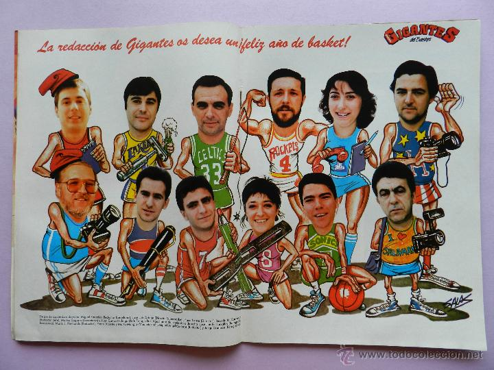 Coleccionismo deportivo: REVISTA GIGANTES DEL BASKET Nº 113-1988 TORNEO NAVIDAD REAL MADRID-ROMAY-NBA USA THOMPSON JJOO SEUL - Foto 3 - 45328398