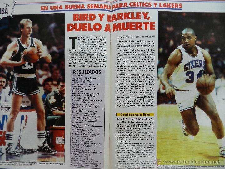 Coleccionismo deportivo: REVISTA GIGANTES DEL BASKET Nº 113-1988 TORNEO NAVIDAD REAL MADRID-ROMAY-NBA USA THOMPSON JJOO SEUL - Foto 6 - 45328398