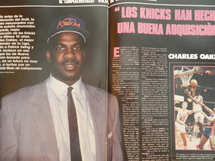 Coleccionismo deportivo: REVISTA GIGANTES DEL BASKET Nº 141-1988 SELECCIÓN ESPAÑOLA JJOO SEUL-POSTER NBA THOMPSON-OAKLEY - Foto 6 - 45379475