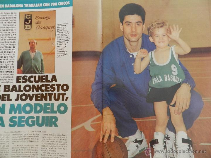 Coleccionismo deportivo: REVISTA GIGANTES DEL BASKET Nº 145-1988 FERNANDO ROMAY-JOVENTUT BADALONA-UCLA-JOHN SALLEY PISTONS - Foto 3 - 45387225