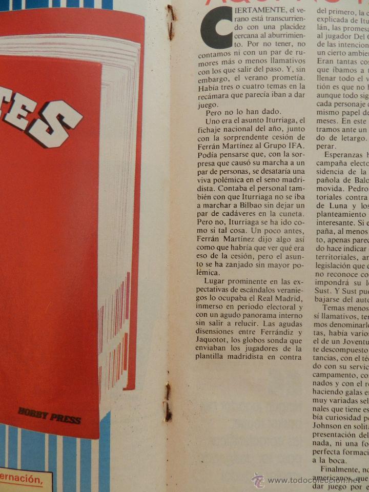 Coleccionismo deportivo: REVISTA GIGANTES DEL BASKET Nº 145-1988 FERNANDO ROMAY-JOVENTUT BADALONA-UCLA-JOHN SALLEY PISTONS - Foto 4 - 45387225