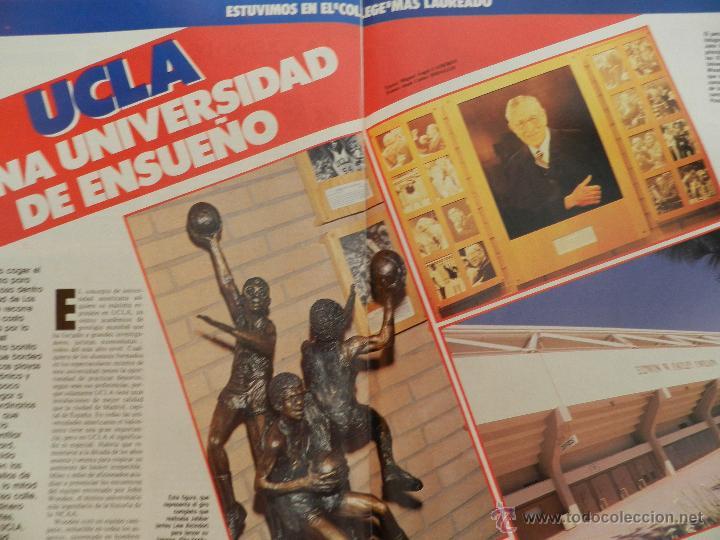 Coleccionismo deportivo: REVISTA GIGANTES DEL BASKET Nº 145-1988 FERNANDO ROMAY-JOVENTUT BADALONA-UCLA-JOHN SALLEY PISTONS - Foto 5 - 45387225