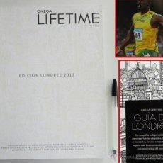 Coleccionismo deportivo: OMEGA LIFETIME LONDRES 2012 JJOO - RELOJES FOTOS GUÍA DE CIUDAD - JUEGOS OLÍMPICOS DEPORTE VIAJE ETC. Lote 45422676