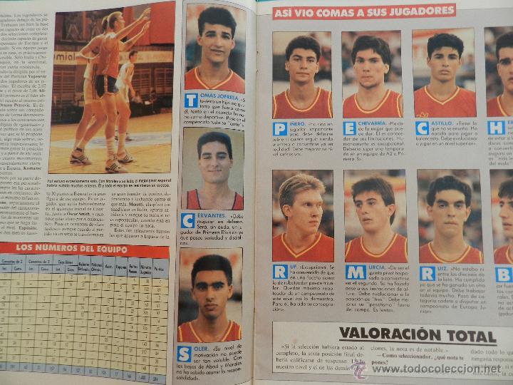 Coleccionismo deportivo: REVISTA GIGANTES DEL BASKET Nº 149-1988 EUROPEO JUNIOR-POSTER LARRY BIRD CELTICS NBA-SABONIS-USA - Foto 2 - 45429151