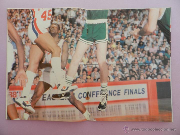 Coleccionismo deportivo: REVISTA GIGANTES DEL BASKET Nº 149-1988 EUROPEO JUNIOR-POSTER LARRY BIRD CELTICS NBA-SABONIS-USA - Foto 3 - 45429151