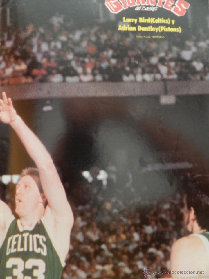 Coleccionismo deportivo: REVISTA GIGANTES DEL BASKET Nº 149-1988 EUROPEO JUNIOR-POSTER LARRY BIRD CELTICS NBA-SABONIS-USA - Foto 4 - 45429151