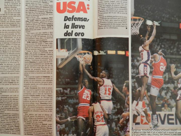 Coleccionismo deportivo: REVISTA GIGANTES DEL BASKET Nº 149-1988 EUROPEO JUNIOR-POSTER LARRY BIRD CELTICS NBA-SABONIS-USA - Foto 8 - 45429151
