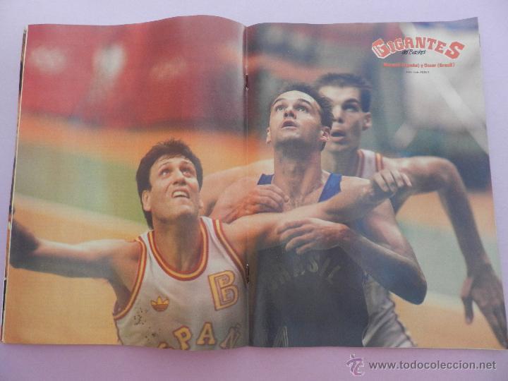Coleccionismo deportivo: REVISTA GIGANTES DEL BASKET Nº 153-1988 JJOO SEUL 88 URSS CAMPEON-POSTER MARGALL-SELECCIÓN ESPAÑOLA - Foto 8 - 45429178