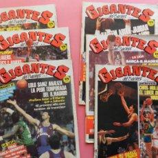 Coleccionismo deportivo: LOTE 5 REVISTA GIGANTES DEL BASKET 1987 - Nº 74-75-77-79-80 NBA-FERNANDO MARTIN-ABDUL JABBAR. Lote 45429377