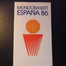 Coleccionismo deportivo: MUNDOBASKET ESPAÑA '86. OVIEDO. BALONCESTO. 64 PAGINAS. FOTOGRAFIAS. 160 GRAMOS.. Lote 45665019