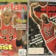 Coleccionismo deportivo: MICHAEL JORDAN - REVISTAS AMERICANAS - RETIRADA DE 1999 - NBA - CON PÓSTER. Lote 45806215