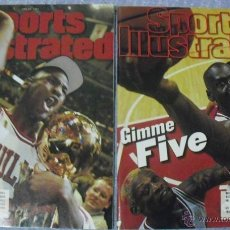 Coleccionismo deportivo: MICHAEL JORDAN - REVISTAS ''SPORTS ILLUSTRATED'' (1997) - QUINTO ANILLO - NBA. Lote 45840960
