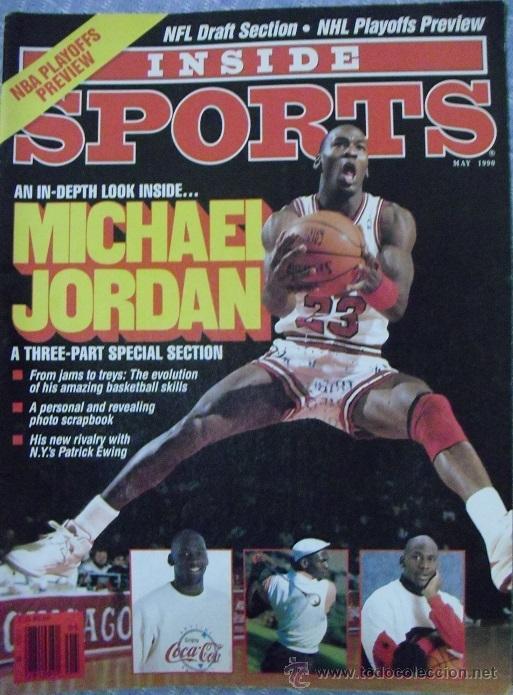 MICHAEL JORDAN - REVISTA ''INSIDE SPORTS'' (1990) - NBA (Coleccionismo Deportivo - Revistas y Periódicos - otros Deportes)