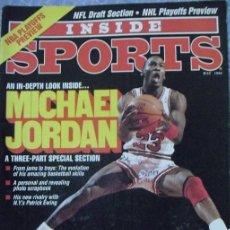 Coleccionismo deportivo: MICHAEL JORDAN - REVISTA ''INSIDE SPORTS'' (1990) - NBA. Lote 45840964
