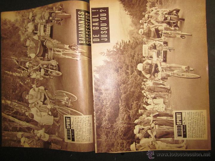 Coleccionismo deportivo: REVISTA CICLISMO - MIROIR SPRINT - FEDERICO BAHAMONTES - (V-1310) - Foto 2 - 45866958