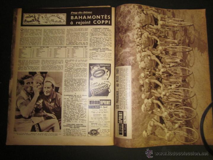 Coleccionismo deportivo: REVISTA CICLISMO - MIROIR SPRINT - FEDERICO BAHAMONTES - (V-1310) - Foto 4 - 45866958