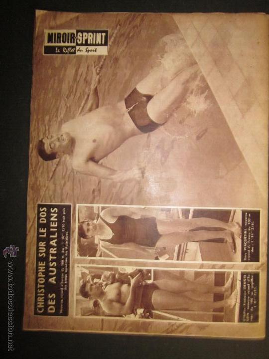 Coleccionismo deportivo: REVISTA CICLISMO - MIROIR SPRINT - FEDERICO BAHAMONTES - (V-1310) - Foto 5 - 45866958