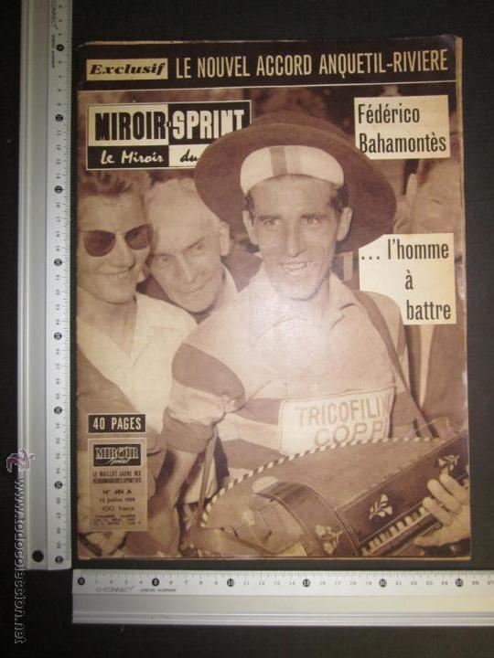 Coleccionismo deportivo: REVISTA CICLISMO - MIROIR SPRINT - FEDERICO BAHAMONTES - (V-1310) - Foto 6 - 45866958