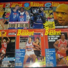 Coleccionismo deportivo: SUPER BASKET SEMANAL USA 1 4 79 90 115 118 150 ESPECIAL NBA 92-93 REGALO GIGANTES 7 9 10 342 383 447. Lote 45977396