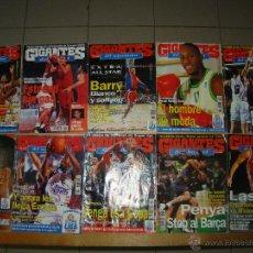 Coleccionismo deportivo: LOTE DE REVISTAS GIGANTES DEL SUPERBASKET. Lote 46357884