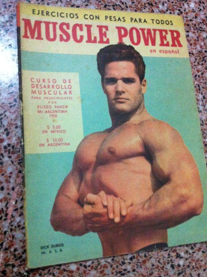 Resultado de imagen para revista muscle power