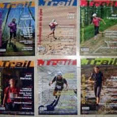 Coleccionismo deportivo: 6 REVISTAS TRAIL 2011-2012. Lote 46500440